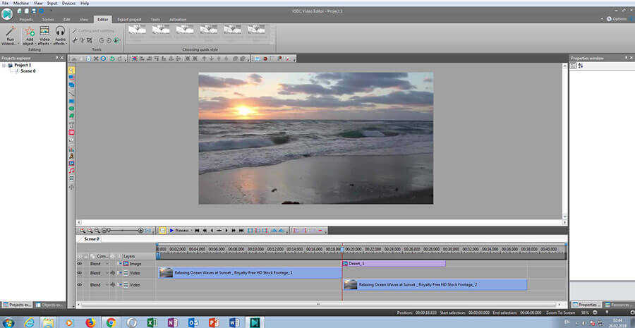 vsdc free video editor tutorial italiano