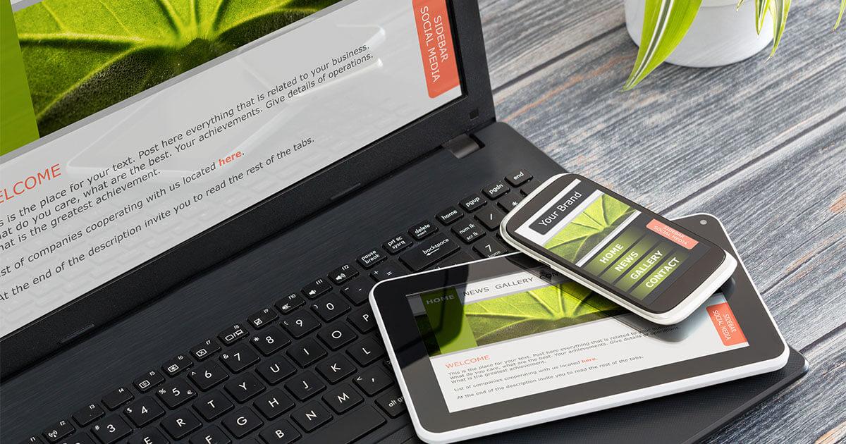 Navigazione responsive nel web design 1 1 ionos for Siti mobili design