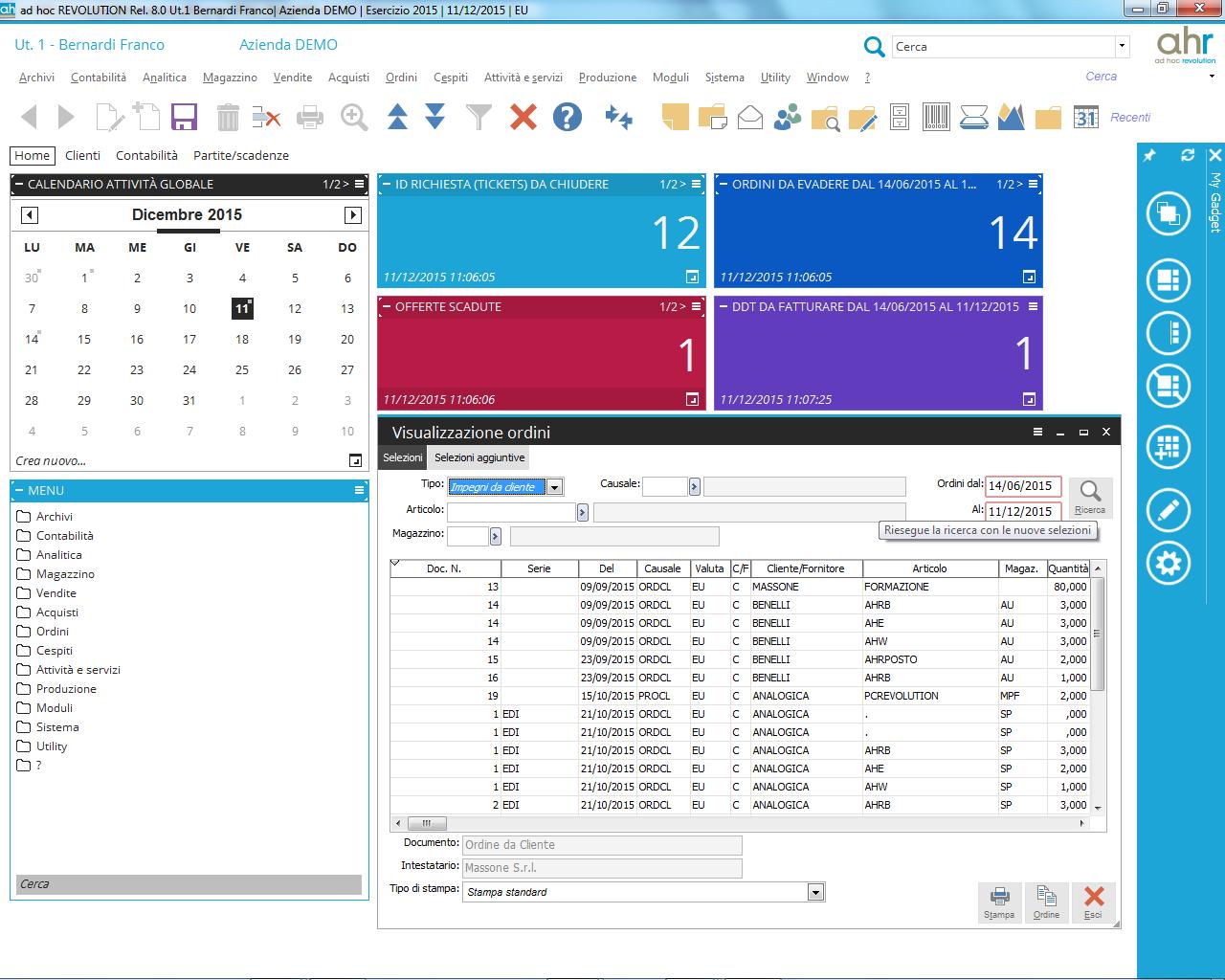 software di contabilità commerciale